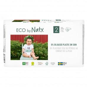 Eco by Naty - Scutece ECO, marimea 2 (3-6 kg), 33 buc.