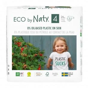 ECO by Naty - Scutece ECO, marimea 4 (7-18 kg), 26 buc.